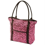 [DEMO] Extreme Pak Neon Pink Leopard Print Shopping Tote